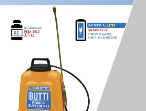 Professionelle Pumpe mit Batterien Elektro-12